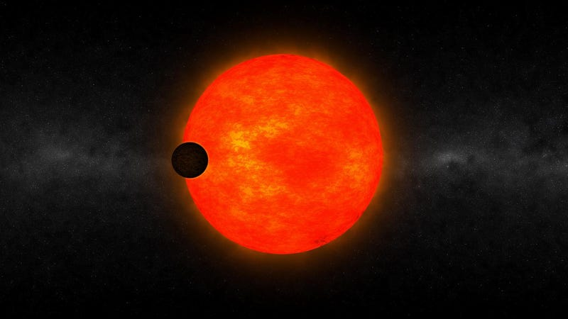 Illustration for article titled Astronomers Found a Gas Giant Orbiting Surprisingly Close to a Tiny Star