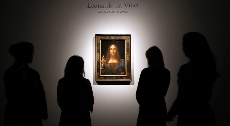 Leonardo da Vinci's Christ painting sells for record $450 million