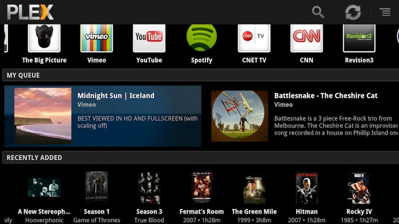 Illustration for article titled Plex Media Center Now Runs on Google TV. Wait, What?