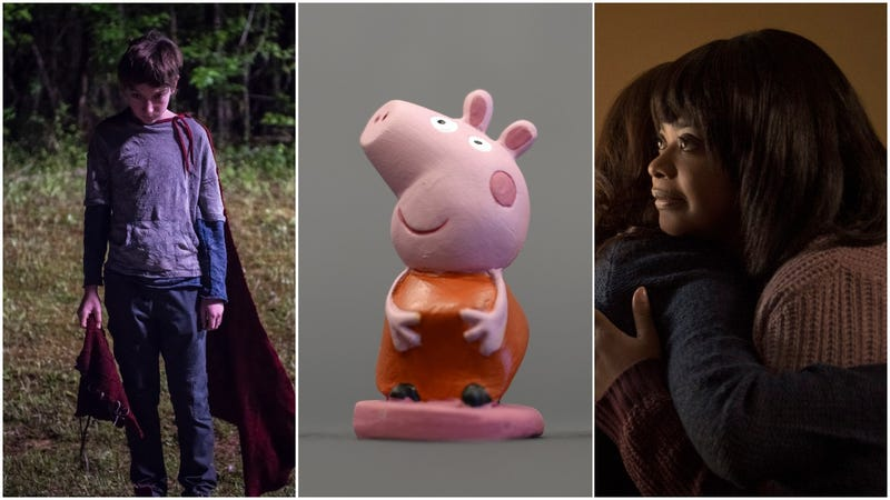Illustration for article titled British theater accidentally treats Peppa Pig audience to trailers for Brightburn and Ma