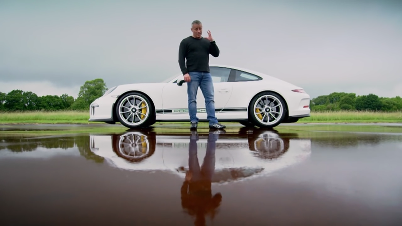 Illustration for article titled Top Gear's Matt LeBlanc Has Opinions On The Porsche 911 R