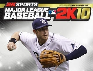 Illustration for article titled Tampa Bay's Longoria is — Officially — MLB 2K10's Cover Man