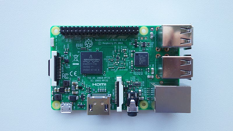 You Can Boot a Raspberry Pi 3 From a Hard Drive or Over Ethernet