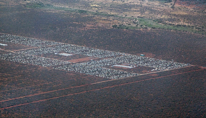 Illustration for article titled 9 Massive Refugee Camps That Are Home to Nearly 1.5 Million People