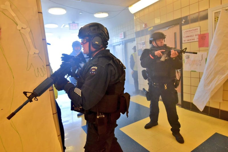 The NYPD Just Had a School Shooter Drill With Terrorist Drones
