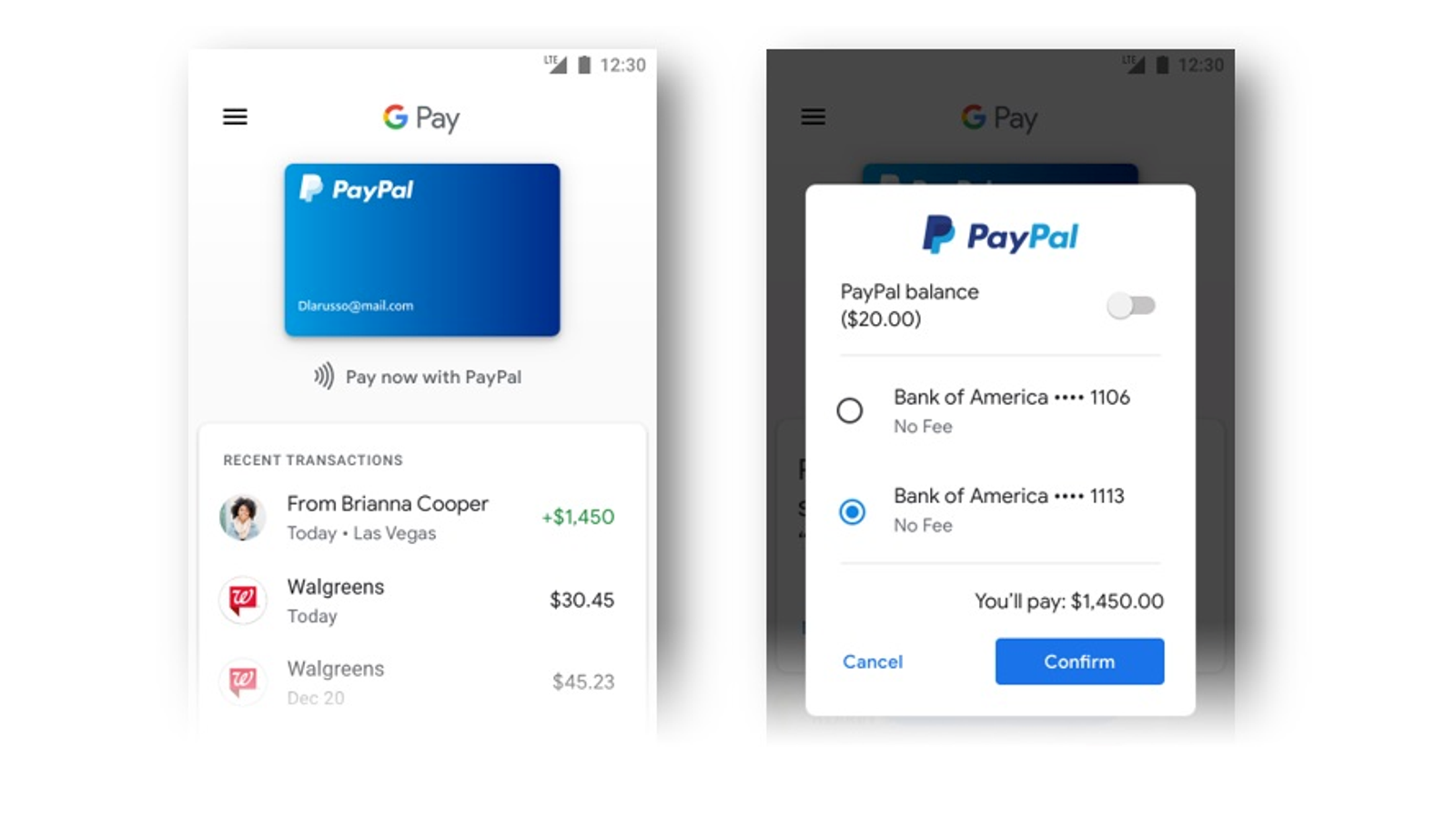 Playstore Paypal