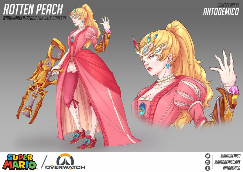 Illustration for article titled Princess Peach, Protecting The Payload