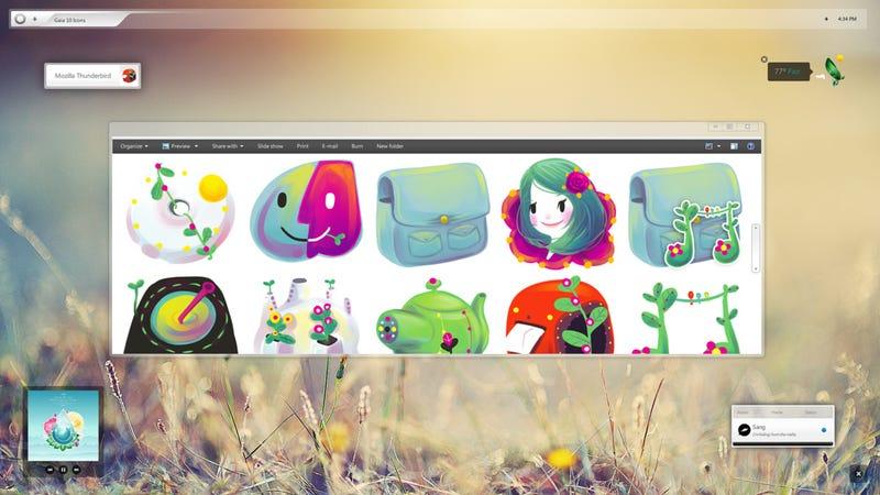 Illustration for article titled The Gaia '10 Desktop
