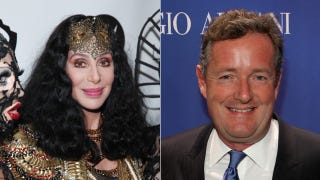 Illustration for article titled Piers Morgan Hates Cher's Fishnet Stockings, Cher Doesn't Give a Fuck