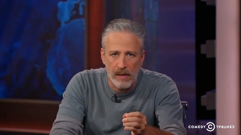 Illustration for article titled Jon Stewart Returns to the Daily Show,Yells at Congress For Failing 9/11 First Responders