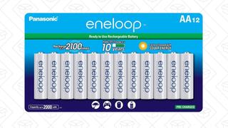 Pack con 12 pilas Eneloop AA   $29   AmazonPack con 16 pilas Eneloop AA   $35   Amazon