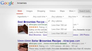 Illustration for article titled Filter Recipe Results by Ingredients and More with Google Search Tools