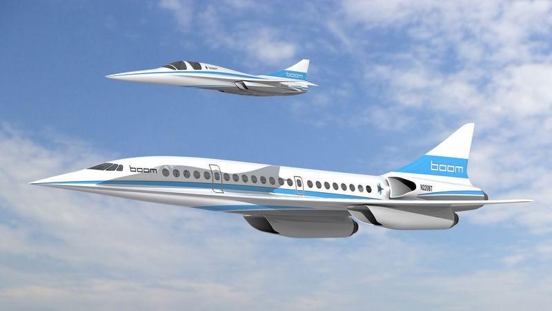 Illustration for article titled Este precioso avión supersónico puede recorrer 12.000 kilómetros en menos de 6 horas