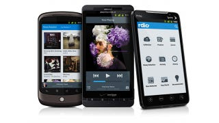 Illustration for article titled Rdio Updates Android App with Better Search, Easier Navigation, and Top Charts