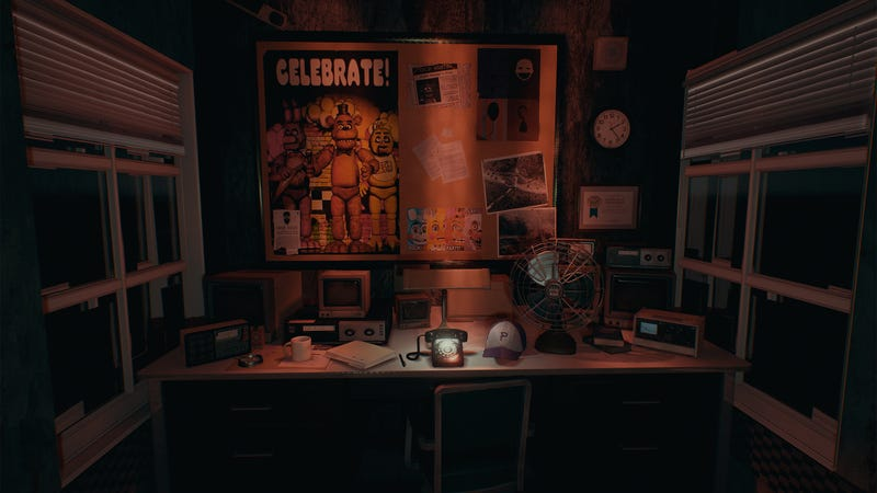 Illustration for article titled Unreal 4 Makes Five Nights at Freddy's Actually Look Good