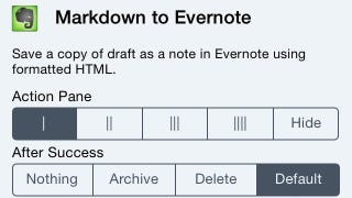 Illustration for article titled Save Articles from the Web to Evernote in iOS With This Bookmarklet