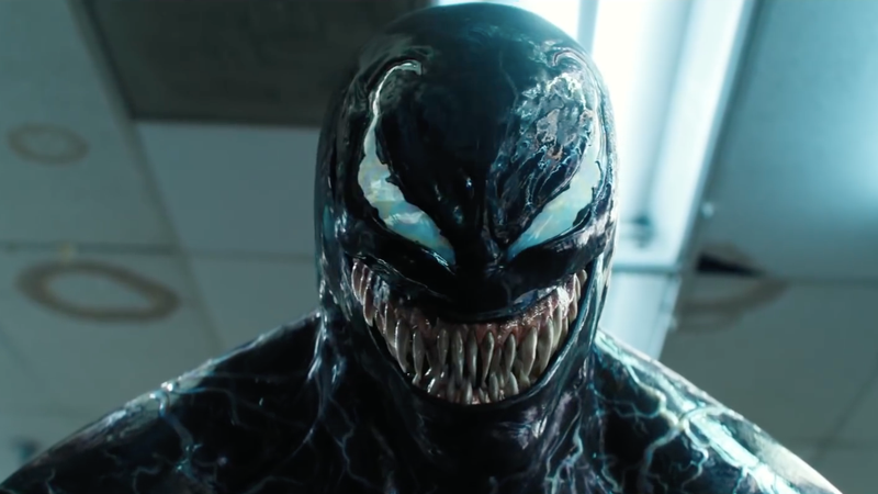 Venom and his fangs.