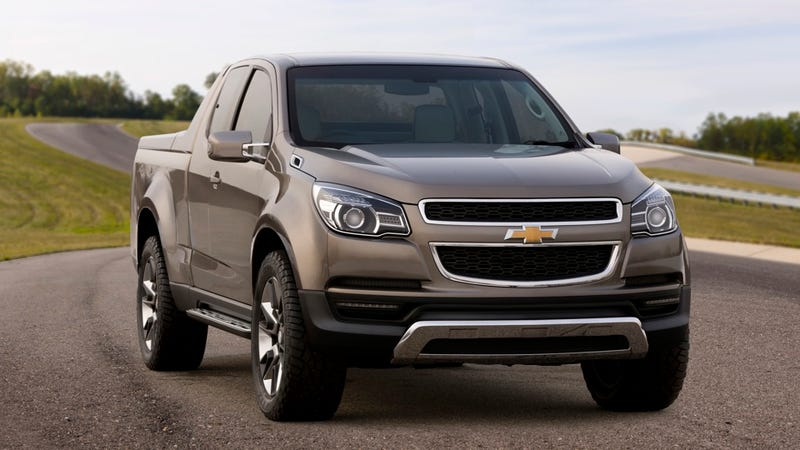 Illustration for article titled The new Chevrolet Colorado will look like this hot concept