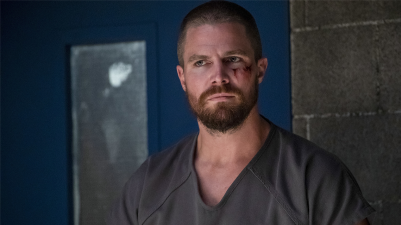 Oliver's in jail again, but this time Arrow's got a fun trick up its sleeve.