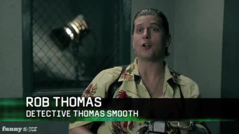 Illustration for article titled Watch Rob Thomas fight crime in the trailer for Smooth