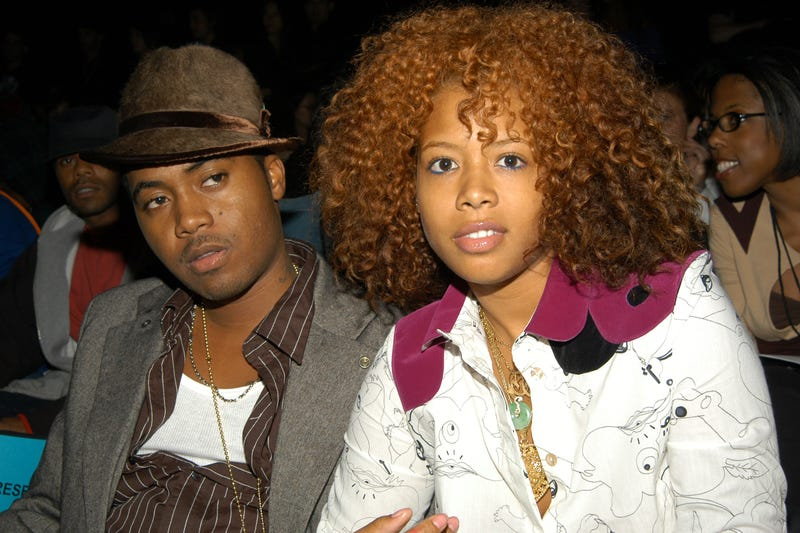 Nas and Kelis (Lawrence Lucier/Getty Images)
