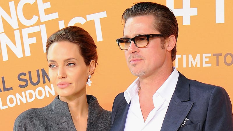 Illustration for article titled Angelina Jolie and Brad Pitt Will Get Married (On Screen)