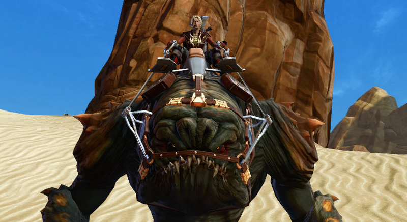 Illustration for article titled Gamble And Win A Rancor Mount In Star Wars: The Old Republic