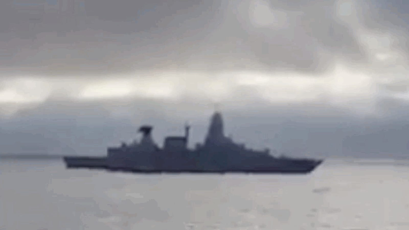 Here's Video Of A Missile Exploding Onboard A German Frigate Last Week