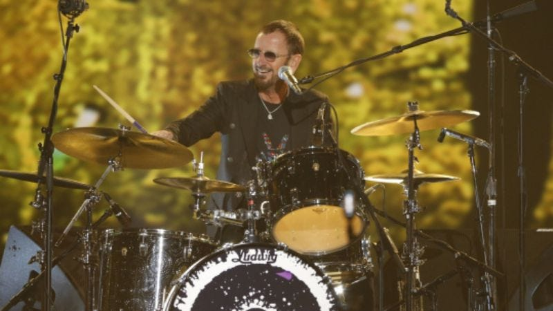 Photo: Ringo Starr, The Night That Changed America: A Grammy Salute to the Beatles (CBS)