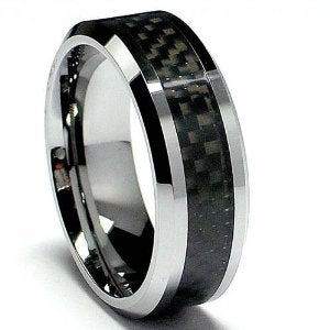 a carbon fiber wedding band - Carbon Fiber Wedding Rings