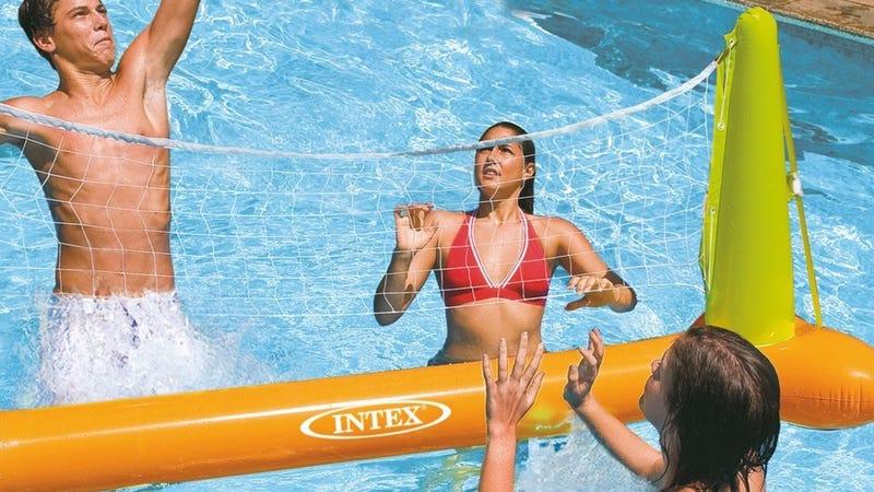 Intex Inflatable Volleyball Net | $8 | Amazon