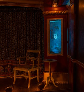 haunted house lighting. Haunted Houses Have Gone Over The Top In Quest For Guts, Gristle And  Gore. But Alvarado Caverns Mystery Theater Los Angeles Offers A Clever, Haunted House Lighting D