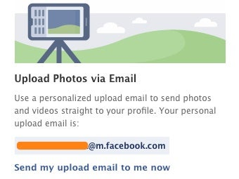 Illustration for article titled Quickly Upload Photos and Video to Facebook via Email