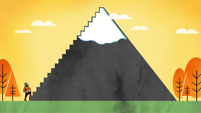 Illustration for article titled How To Climb A Goddamn Mountain