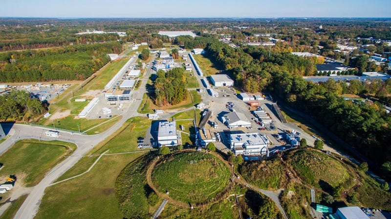 The Thomas Jefferson National Accelerator Facility, one of two labs that may one day host the Electron Ion Collider
