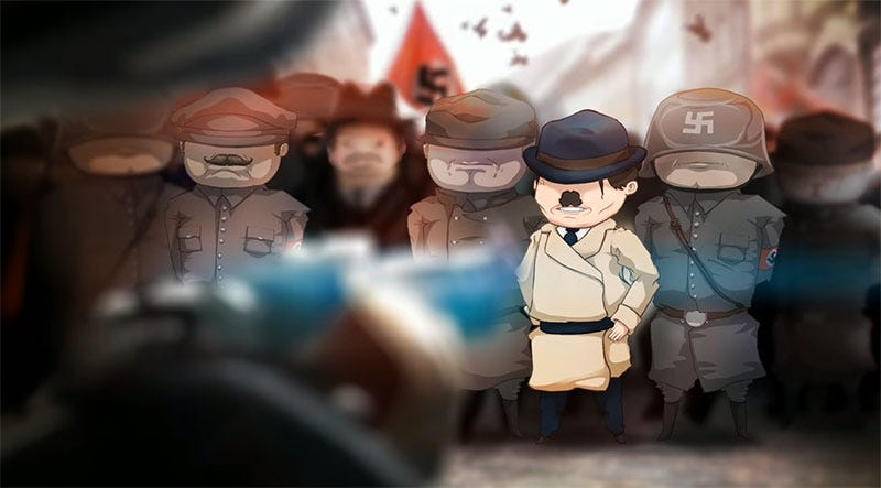 Illustration for article titled An Adventure Game About Stopping Hitler