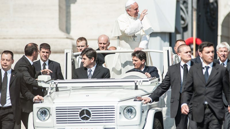 Illustration for article titled Pope Francis Wants Priests To Drive Humble Cars