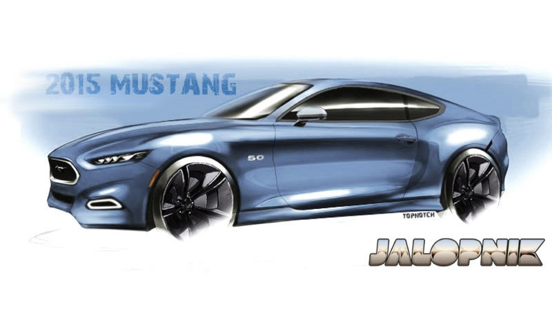 Illustration for article titled America May Be Getting The Four-Cylinder Turbo 2015 Ford Mustang After All