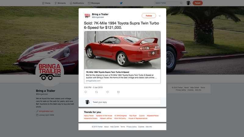 Illustration for article titled The Toyota Supra Has Gone Too Far