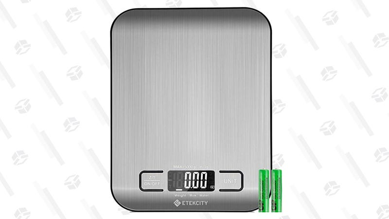 Etekcity Food Digital Scale | $10 | Amazon