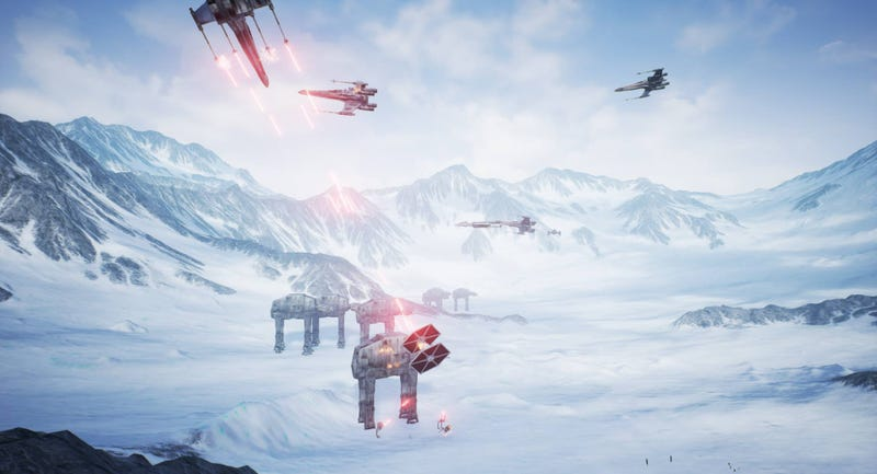 Illustration for article titled Creators Of Star Wars: Battlefront 3 Fan Remake Say It's Getting A Steam Release