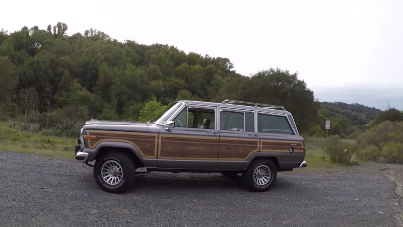 Illustration for article titled Jeep Barely Changed The Wagoneer For 30 Years