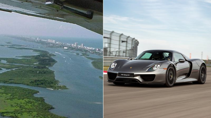 Illustration for article titled Florida Man Sick Of His $1,000,000 Island, Wants To Trade For A Porsche 918