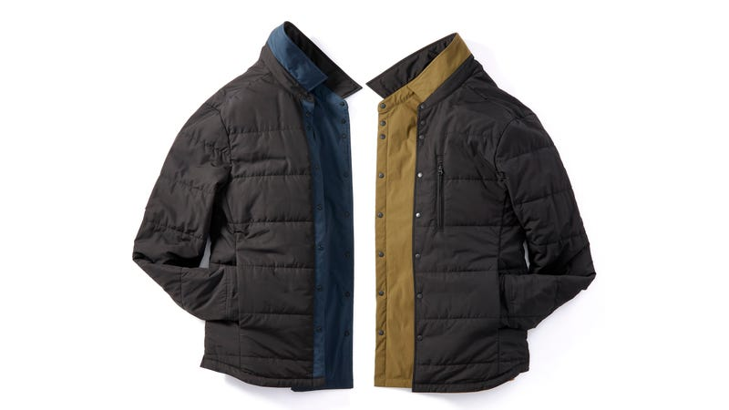 Illustration for article titled Get 25% Off These Lightweight Insulated and Reversible Shirt Jackets From Proof ($93)