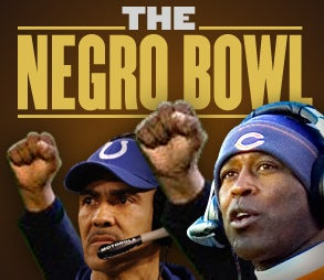 Illustration for article titled Negro Bowl I: Breaking: Lovie & Grossman Out, Parcells & Romo In As 'Officials' Look To Subvert Negro Bowl I
