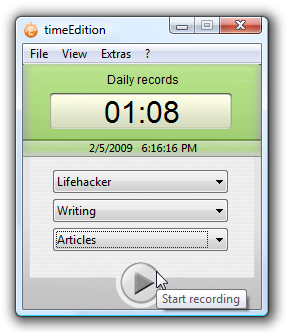 Illustration for article titled TimeEdition is a Simple and Stylish Time Tracker