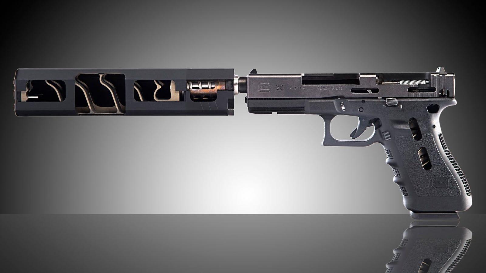 Cómo es por dentro y cómo funciona en realidad el silenciador de un arma