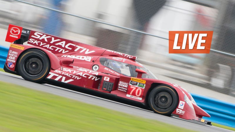 Illustration for article titled Ask Mazda Diesel Prototype Racers Nunez and Bomarito Anything