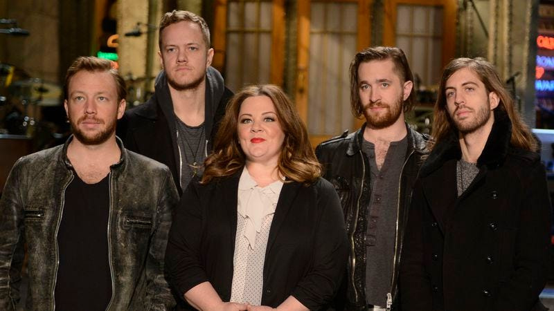 "Illustration for article titled Saturday Night Live: ""Melissa McCarthy/Imagine Dragons"""