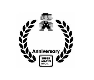 Illustration for article titled Super Mario Bros. Gets 25th Anniversary Logo